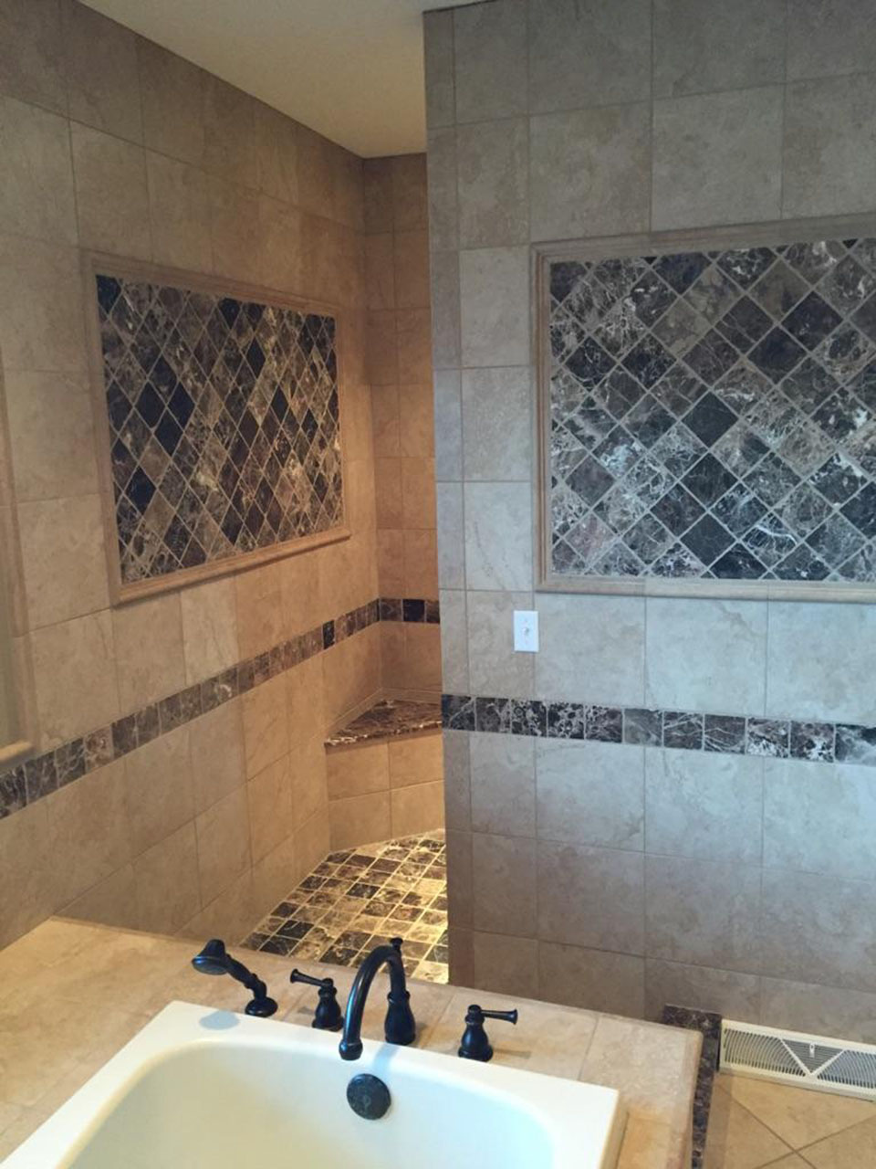 Bathroom Remodel Zanesville modern glass paint and tile company - zanesville, ohio - portfolio